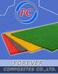 Forever Composites Co., Ltd . Manufactures Molded and Pultruded gratings and FRP profiles in China.